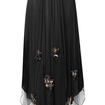By Malene Birger - Beverlyh embellished tulle maxi skirt