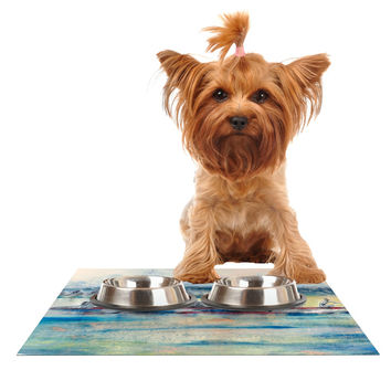 "Josh Serafin ""Crew"" Rowing Dog Place Mat"