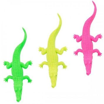 Neon Crocodile Toy Party Favor (pack of 36)