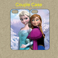 iphone 5c case,iphone 5c cases,iphone 5s case,cool iphone 5s case,cute iphone 5c case,iphone 5 case,5c case--frozen,anna and elsa,in plastic