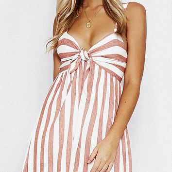 Life Saver Striped Dress
