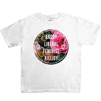 Angry Liberal Feminist Killjoy -- Youth/Toddler T-Shirt