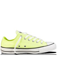 Yellow Chuck Taylor Washed Neon Shoes : Chuck Taylors | Converse.com