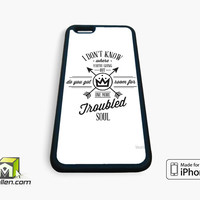 Fall Out Boy Lyric Cover iPhone Case 4, 4s, 5, 5s, 5c, 6 and 6 plus by Avallen