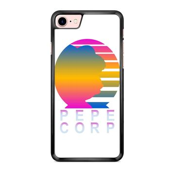 Pepe Aesthetic Pepe Corp White iPhone 7 Case