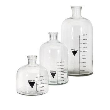 Chemistry Bottles - Set of Three