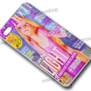 Rapunzel Little Vogue Cover Girl case for iphone 4/4S, iphone 5/5C, samsung galaxy s3, samsung galaxy s4, ipod 4 and ipod 5