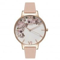 ENCHANTED GARDEN DUSTY PINK, WHITE & ROSE GOLD