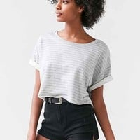 Project Social T Take A Hike Cropped Top