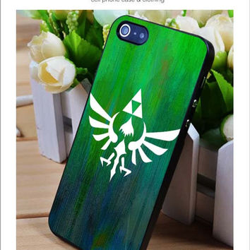 Legend of Zelda logo iPhone for 4 5 5c 6 Plus Case, Samsung Galaxy for S3 S4 S5 Note 3 4 Case, iPod for 4 5 Case, HtC One for M7 M8 and Nexus Case