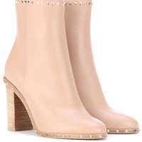 Valentino Garavani leather ankle boots