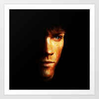 Sam Winchester / Supernatural - Painting Style Art Print by ElvisTR