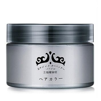 Grandma Gray Hair Wax 120g Does Not Hurt Hair Silver Gray One-Time Hair Dye