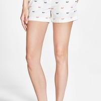 Women's Vineyard Vines 'Dayboat' Whale Print Shorts,