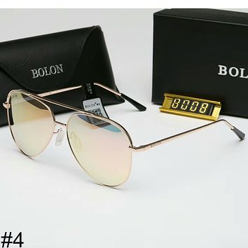 BOLON new colorful film men and women with the same paragraph sunglasses F-A-SDYJ #4