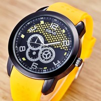 Great Deal Gift New Arrival Designer's Trendy Good Price Awesome Couple Stylish Vintage Emoji Korean Simple Design Watch [10816521283]