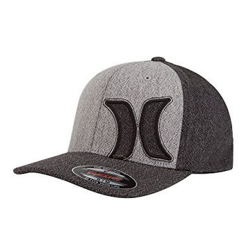 Hurley Mens MHA0005770 Laguna Fitted Costume Headwear And Hats, Black - L-XL