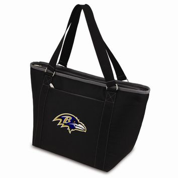 Baltimore Ravens Insulated Black Cooler Tote