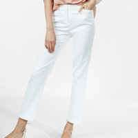 Mid Rise Straight Chino Pant