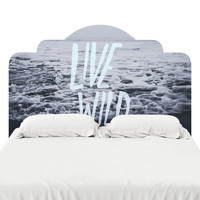 Live Wild Headboard Decal