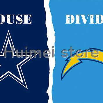 Dallas Cowboys Flag Vs San Diego Chargers Flag Football World Series 3ft X 5ft San Diego Chargers Banner Dallas Cowboys