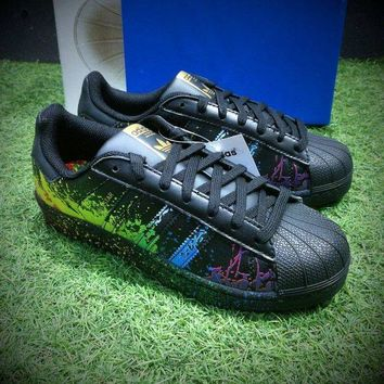 LMFUX5 Adidas Superstar LGBT Pride Month Gay Pride Pack Casual Shoes Sport Shoes BB1687
