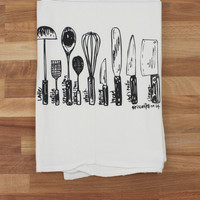 Utensils Tea Towel