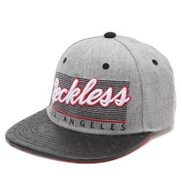 Young & Reckless Vintage Ostrich Snapback Hat - Mens Backpack - Grey - One
