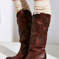 Frye Tabitha Pull-On Tall Boot- Chocolate