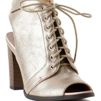 PINK AND PEPPER SHOES, TICKLER LACE UP BOOTIE