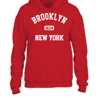 brooklyn new york - UNISEX HOODIE