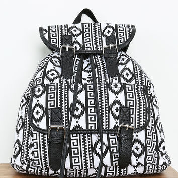 Geo Pattern Backpack