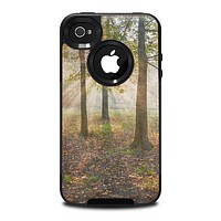 The Vivid Colored Sunny Forrest Skin for the iPhone 4-4s OtterBox Commuter Case