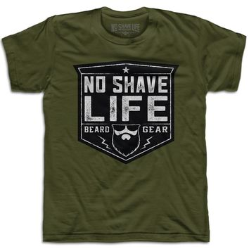 Beard Gear Shield Men's T-Shirt