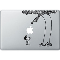 Giving Apple Tree MacBook Decal - Mac Apple Skin Sticker