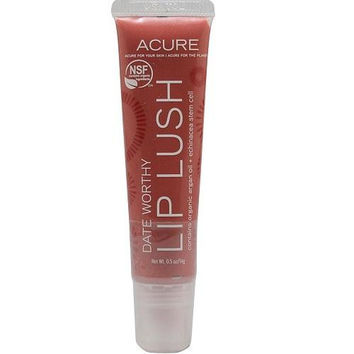 Acure Lip Lush Date Worthy (1x.5 Oz)