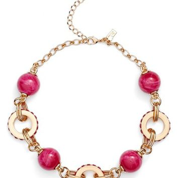 kate spade new york second nature statement collar necklace | Nordstrom