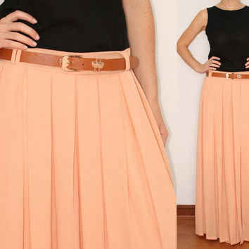 Wide Leg Pants Palazzo Pants in Peach for Women