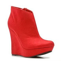 Michael Antonio Cane Wedge Bootie