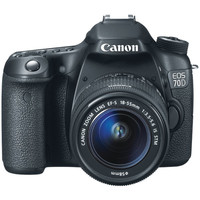 CANON 8469B016 20.2-Megapixel EOS 70D Digital SLR Camera (with 18mm-135mm IS STM Zoom)