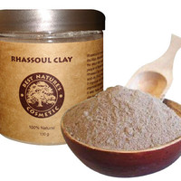 Moroccan Rhassoul, Lava Clay. Face Mask. Body wrap.