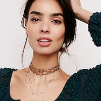 Free People Summer Rains Choker