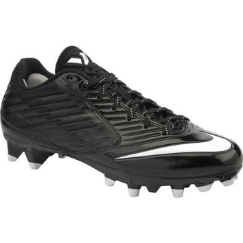 Mens Nike Vapor Speed Low TD Football Cleat Black/White Size 10 M US