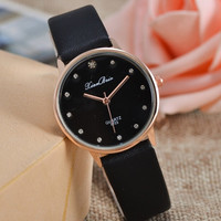deals] New Fashion Contracted Set Auger Female Table Gold Dribbling Classical Quartz Watches Gift   For Girlfriend = 5988049985