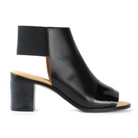 MM6 By Maison Martin Margiela open toe ankle boots