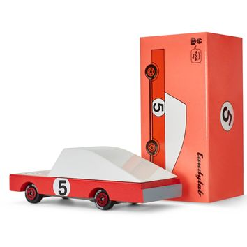 Candycar Red Racer #5 by Candylab Toys