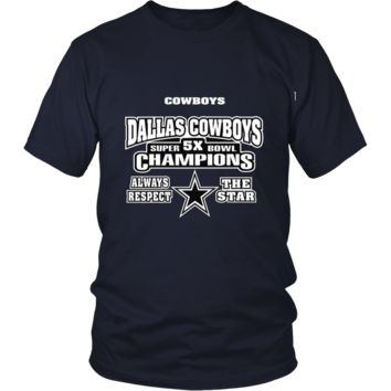 Dallas Cowboys Respect The Star