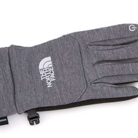 The North Face ETip Gloves for Women in High Rise Grey Heather A7LP-A8Q