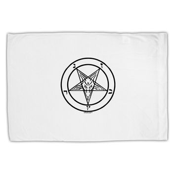 Sigil of Baphomet Standard Size Polyester Pillow Case by TooLoud