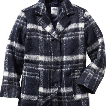Old Navy Girls Wool Blend Coat